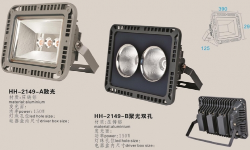投光灯外壳LED灯技术水平和产业取得突破性进展